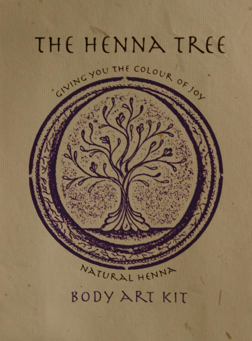 Henna Body Art Kit The Henna Tree